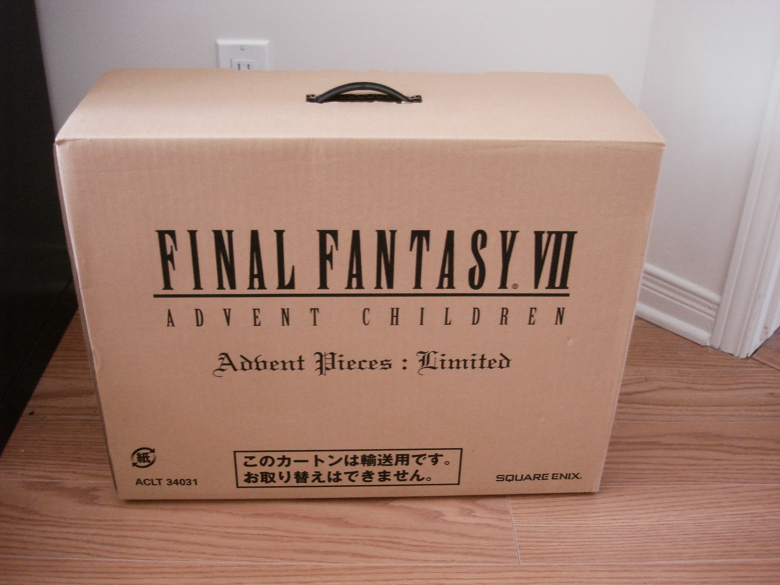 Unboxing Final Fantasy VII Advent Children Collector Limited Edition Jap