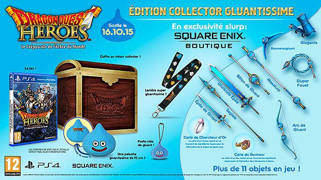 Shainiiigamer Collector Test – Dragon Quest Heroes