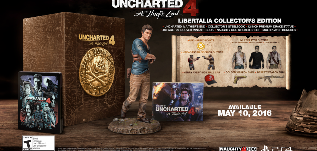 Shainiiigamer Collector Test – Uncharted 4 «A Thief's End»