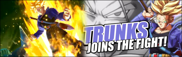 Rapid News – Trunks rejoint Dragon Ball FighterZ
