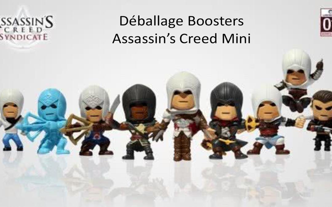 Boosters Assassin's Creed Mini