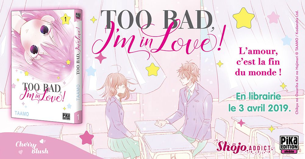 Manga – Too bad I'm in love