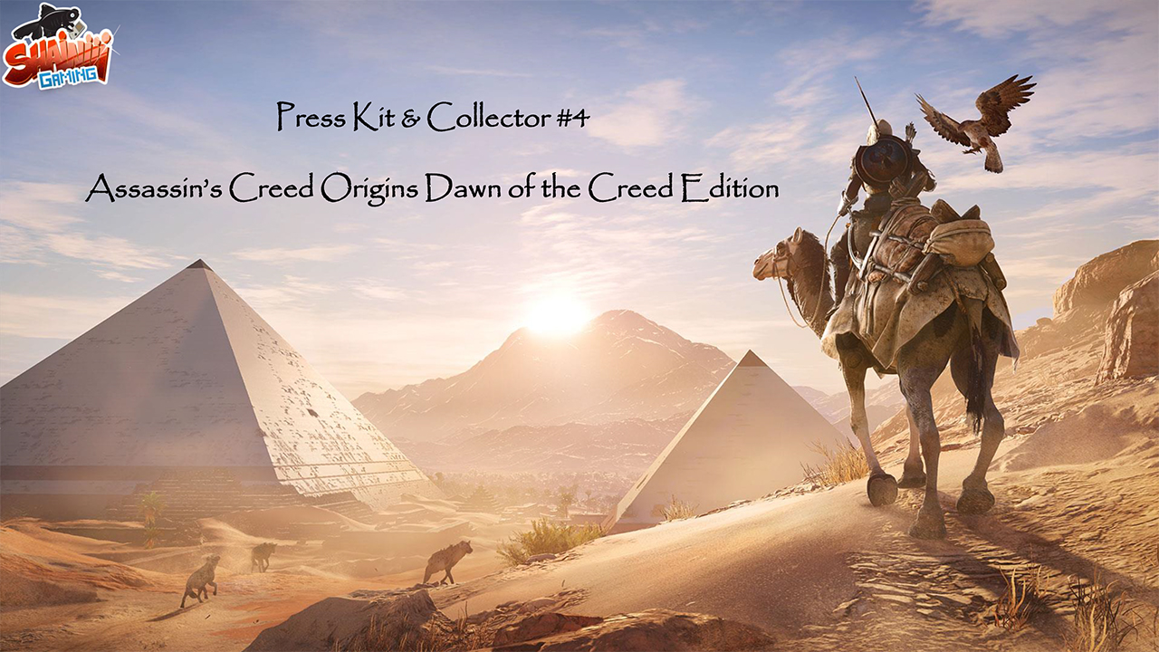 Press Kit & Collector #4 «Assassin's Creed Origins Dawn of the Creed Edition»