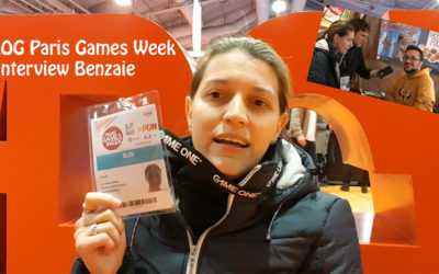Vlog Paris Games Week + Interview Benzai