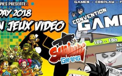 Shainiiigaming à la Pixel Day et la Convention Gameplay