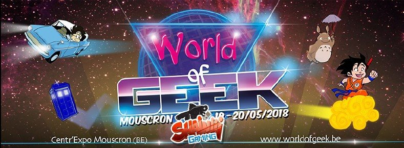Shainiiigaming au World of Geek