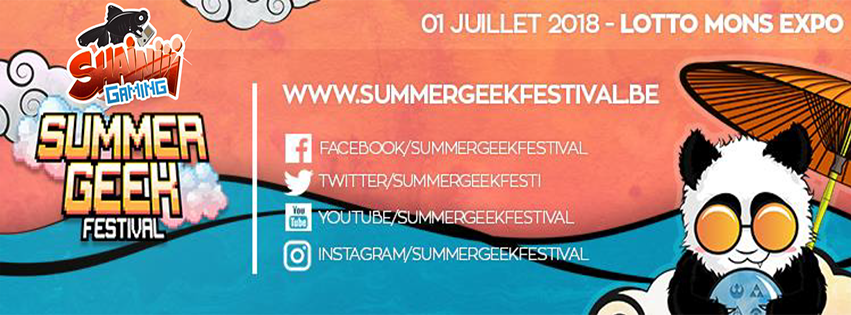 Shainiiigaming au Summer Geek Festival