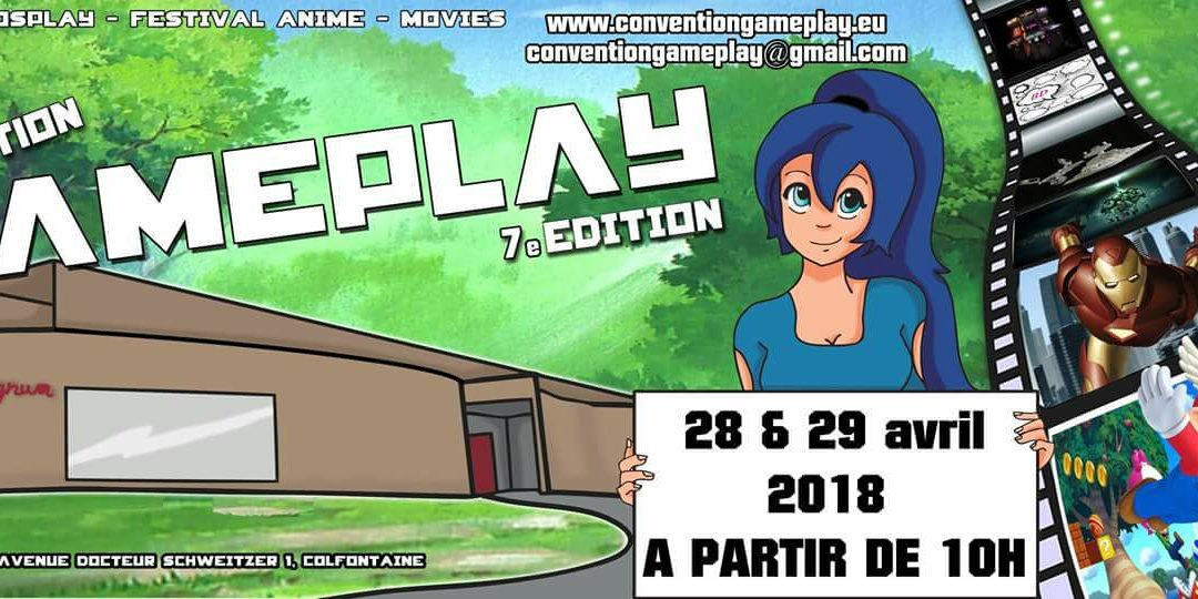 Convention Gameplay 2018