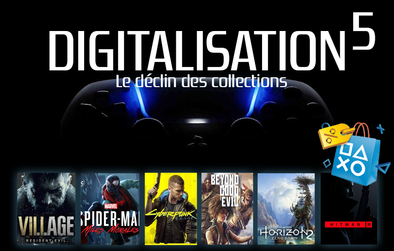 Analyse: La Digitalisation de la Playstation 5