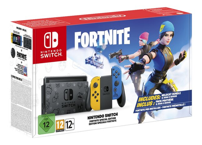 Switch X Fortnite